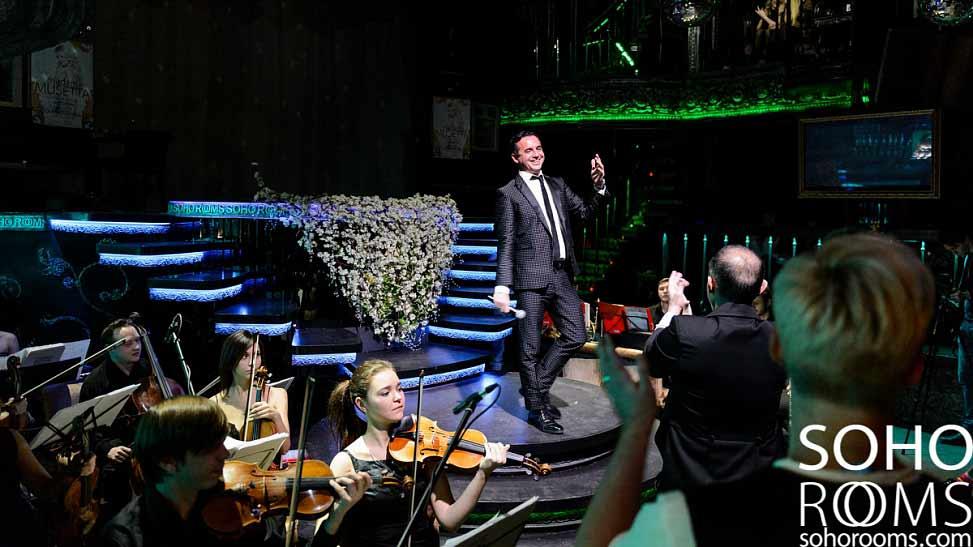 grande successo del concerto di luca a Krasnagorsk